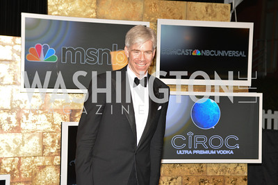 David Gregory, MSNBC hosts an afterparty for the White House Correspondents Association Dinner.  National Building Museum.  May 3, 2014.  Photo by Ben Droz
