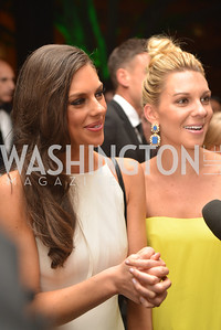 Abby Huntsman, Mary Anne Huntsman,  MSNBC hosts an afterparty for the White House Correspondents Association Dinner.  National Building Museum.  May 3, 2014.  Photo by Ben Droz