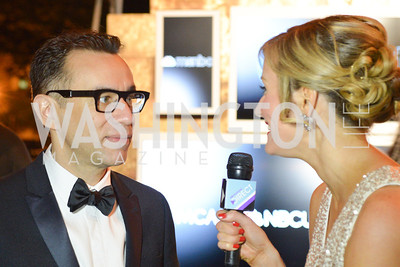 Fred Armisen, , MSNBC hosts an afterparty for the White House Correspondents Association Dinner.  National Building Museum.  May 3, 2014.  Photo by Ben Droz