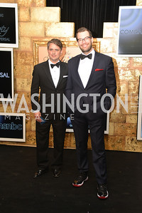 Ben Jenkins, Chris Gindlesperger,  MSNBC hosts an afterparty for the White House Correspondents Association Dinner.  National Building Museum.  May 3, 2014.  Photo by Ben Droz