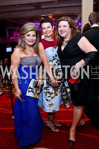 Annie Totah, Michal Niakani, Robin Hammer. Photo by Tony Powell. 2014 WPA Gala. Wardman Park. May 10, 2014