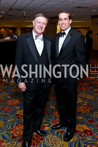 Doug Wheeler, WPA COO Allen Lassinger. Photo by Tony Powell. 2014 WPA Gala. Wardman Park. May 10, 2014