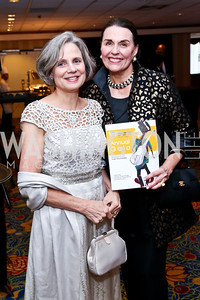 Charlotte Cameron, April Georgelas. Photo by Tony Powell. 2014 WPA Gala. Wardman Park. May 10, 2014