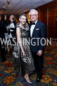 Irene Roth and Dr. Vicken Poochikian. Photo by Tony Powell. 2014 WPA Gala. Wardman Park. May 10, 2014