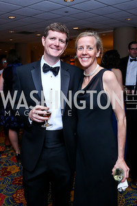 Ben and Stuart Allen. Photo by Tony Powell. 2014 WPA Gala. Wardman Park. May 10, 2014