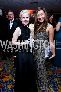Marguerite Gould, Judy Vongboupha. Photo by Tony Powell. 2014 WPA Gala. Wardman Park. May 10, 2014