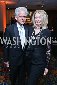 Donald and Rhona Friedman. Photo by Tony Powell. 2014 WPA Gala. Wardman Park. May 10, 2014