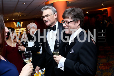 Murray Horwitz, Joel Friedman. Photo by Tony Powell. 2014 WPA Gala. Wardman Park. May 10, 2014
