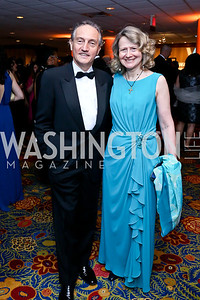 Italian Amb. Claudio Bisogniero and Laura Denise Bisogniero. Photo by Tony Powell. 2014 WPA Gala. Wardman Park. May 10, 2014