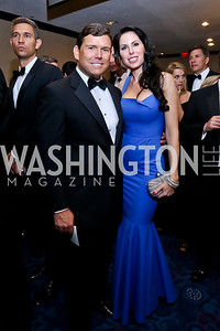 Bret and Amy Baier. Photo by Tony Powell. WHCD Pre-parties. Hilton Hotel. May 3, 2014