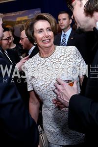 Nancy Pelosi. Photo by Tony Powell. WHCD Pre-parties. Hilton Hotel. May 3, 2014