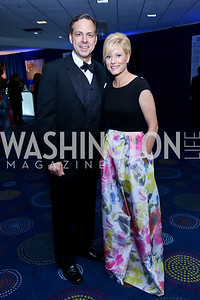 Jake and Jennifer Tapper. Photo by Tony Powell. WHCD Pre-parties. Hilton Hotel. May 3, 2014