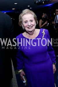 Madeleine Albright. Photo by Tony Powell. WHCD Pre-parties. Hilton Hotel. May 3, 2014
