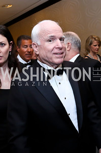 Sen. John McCain. Photo by Tony Powell. WHCD Pre-parties. Hilton Hotel. May 3, 2014