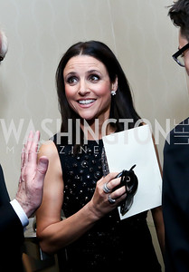 Julia Louis-Dreyfus. Photo by Tony Powell. WHCD Pre-parties. Hilton Hotel. May 3, 2014