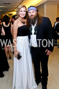 Korie and Willie Robertson. Photo by Tony Powell. WHCD Pre-parties. Hilton Hotel. May 3, 2014