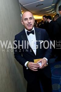 The Today Show's Matt Lauer. Photo by Tony Powell. WHCD Pre-parties. Hilton Hotel. May 3, 2014