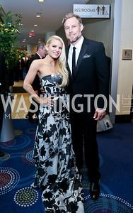 Jessica Simpson and fiance Eric Johnson. Photo by Tony Powell. WHCD Pre-parties. Hilton Hotel. May 3, 2014