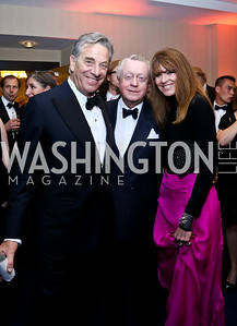 Paul Pelosi, Tom Quinn, Lynly Boor. Photo by Tony Powell. WHCD Pre-parties. Hilton Hotel. May 3, 2014