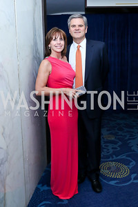 Jean and Steve Case. Photo by Tony Powell. WHCD Pre-parties. Hilton Hotel. May 3, 2014