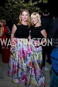 Emily DiBari, Jennifer Tapper. Photo by Tony Powell. 2014 White-Meyer Dinner. October 17, 2014