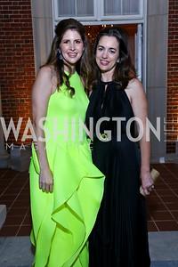 Lindsay Angerholzer, Gwen Holliday. Photo by Tony Powell. 2014 White-Meyer Dinner. October 17, 2014