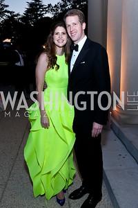 Lindsay and Max Angerholzer. Photo by Tony Powell. 2014 White-Meyer Dinner. October 17, 2014