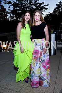 Lindsay Angerholzer, Emily DiBari. Photo by Tony Powell. 2014 White-Meyer Dinner. October 17, 2014