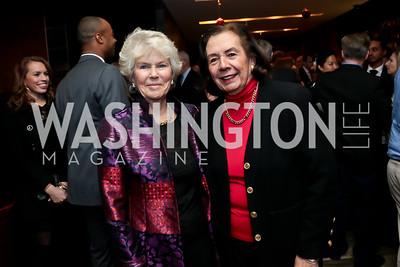 Ann Pincus, Ann Jordan. Photo by Tony Powell. 2014 Woodley House Benefit. Spices. December 17, 2014