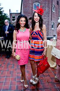 Lorena Jewart, Cori Sue Morris. Photo by Tony Powell. Woodrow Wilson Garden Party. May 14, 2014