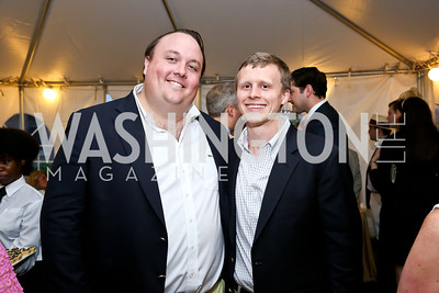 Fritz Brogan, Reed Landry. Photo by Tony Powell. Woodrow Wilson Garden Party. May 14, 2014