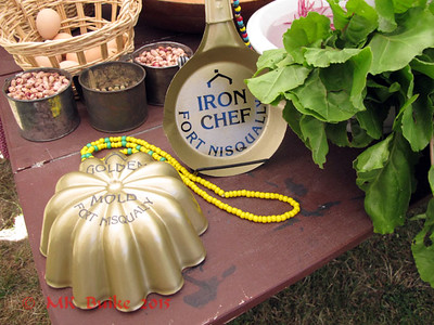 "The Awards: Grand prizes are the ""Golden Skillet"" (best savory dish) and the new ""Golden Mold"" (best sweet/dessert dish)."