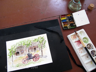 sketch with period kit