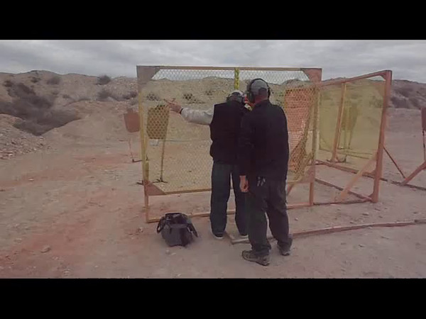 Don Bradford on Stage 3 - IDPA
