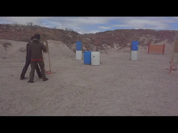 Jake Stafford on Stage 4 - USPSA