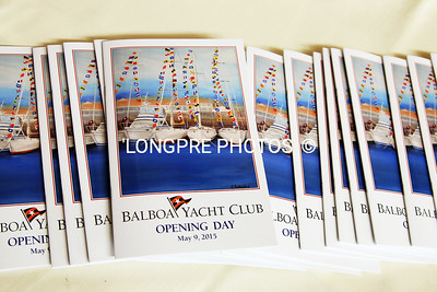 PROGRAMES for Opening Day 2015.