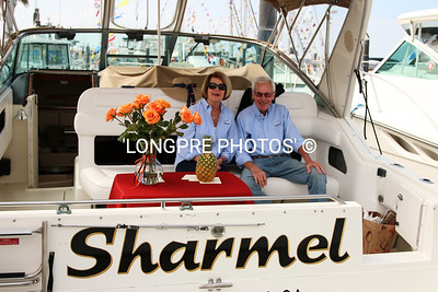 'SHARMEL'  Sea Ray 34,  ARLENE and BOB STEVENS