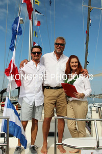 OUTBOUND being Judged by Scott and Cheri Poe.  Nolan Cannon's family yacht.