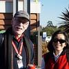 Dave Collins and Saeko Fujiki