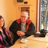 Jenny and Alan Bennett at Loch