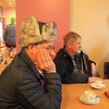 Murray Finlay, Rob Krygsman and Jenny Bennett at Loch