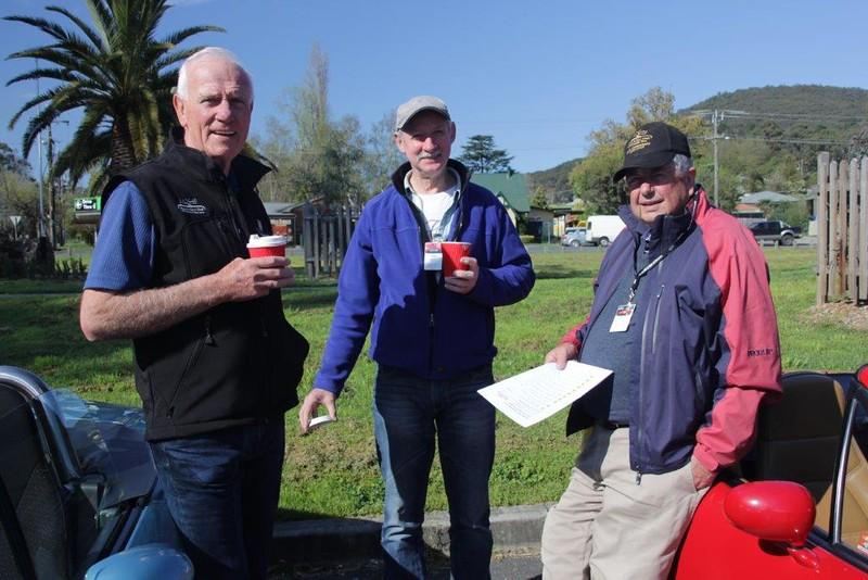 Peter Gillies, John Hayhurst, Eric Field