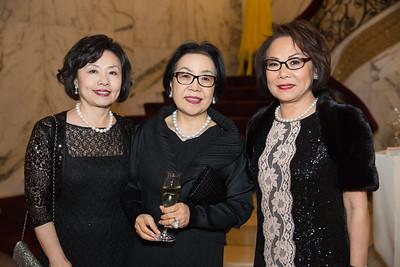 Mrs. Sungnam Suk, Mrs. Yoonjung Choi, Misook Doolittle