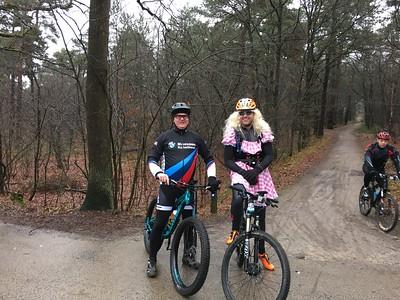 MTB toer - Dorst en Cadettencamp (NL)  24-01-2016