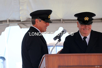 Comm; Tom Mooers and Jr. Staff Comm. Doug West.
