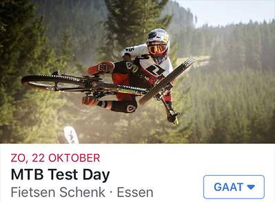 MTB Test Day Fietsen Schenk 22-10-2017