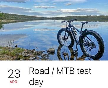 Road & MTB Test Day Schenk 23-04-2017