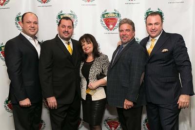 Marco Rugiero, Anthony Rugiero, Sue and Mike Falahee, Patrick Rugiero