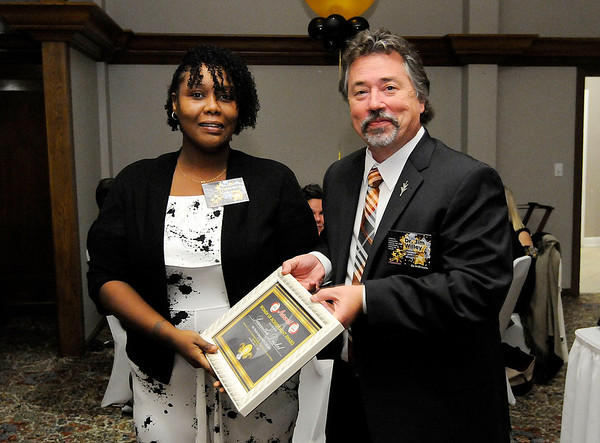 Don Knight | The Herald Bulletin<br /> Athena awards dinner at the Anderson Country Club on Thursday.
