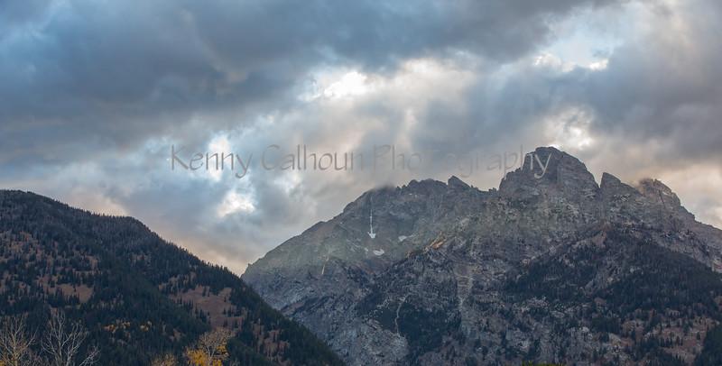 Teton Sunset-